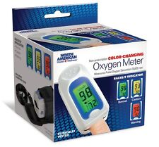 Color Changing Fingertip Oxygen Meter Rate Reader Pulse Saturation Monitor Level