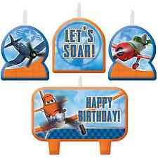 Disney Planes 2 Mini Candles Set Boys Birthday Party Decorations Cake Toppers