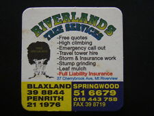 RIVERLANDS TREE SERVICES 37 CHERRYBROOK AVE MT RIVERVIEW 516679 COASTER