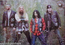 "BLACK LABEL SOCIETY ""BAND STANDING IN FIELD"" POSTER FROM ASIA - Zakk Wylde"