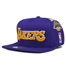 Los Angeles Lakers TEAM HISTORY Snapback Mitchell & Ness NBA Hat