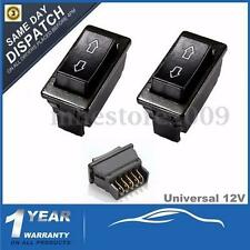 2x Universal 12V 20A Car Electric Window Switch Up Down Aerial Momentary 5 Pins