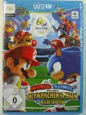 !!! NINTENDO Wii U SPIEL Mario & Sonic Rio 2016 eingeschweisst TOP !!!