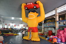 20' INFLATABLE GORILLA WITH CAR AND BLOWER 4 ADVERTISING PROMOTIONS