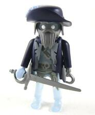 Playmobil ghost pirate figure 6625 adventskalender ship sword klicky hat feather