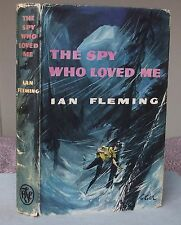 Ian Fleming THE SPY WHO LOVED ME (James Bond 007) Book Club Edition