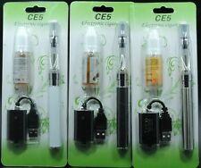 New EGO-T CE5 900mAh Electronic Vapor E Pen Shisha Starter Kit USB Charger