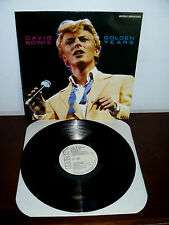 PROMO  RCA DAVID BOWIE   LP GOLDEN YEARS   MADE IN  ITALY DIGITALLY REMASTERED