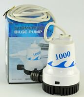 12v SUBMERSIBLE BILGE PUMP 1000GPH