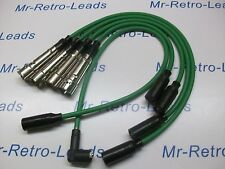 GREEN 8MM PERFORMANCE IGNITION LEADS TO FIT VW GOLF MK2 MK3 GTi QUALITY HT LEADS