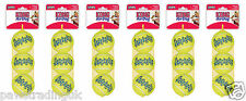 Kong AirDog Squeaker Tennis Ball Standard Regular Size x 18 Medium Bulk Bargain