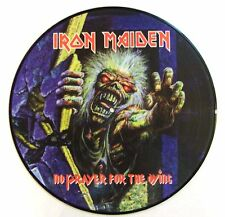 IRON MAIDEN VINYL LP NO PRAYER FOR THE DYING - PICTURE DISC