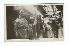 BLACKPOOL CARNIVAL ARRIVAL KING QUEEN & JESTER REAL PHOTO POSTCARD