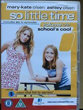Mary-Kate & Ashley Olsen SO LITTLE TIEMPO Volumen 1 ~ 2001 TV Serie GB DVD