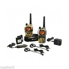 WALKIE TALKIE 2 WAY RADIO Portable Handheld Headset Gmrs CAMO WATERPROOF 36 Mile