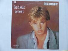"""MAXI 12"""" DEN HARROW Don't break my heart 885 759 7   ITALO"""