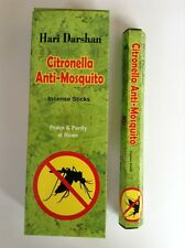 Wholesale Hari Darshan Ethical Incense 6 x 20 Stick packs Citronella Fragrance