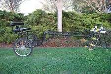 "New EZ Horse Cart-Pony and Cob Size with 60""-72"" Curved Shafts"