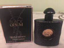 Yves Saint Laurent YSL Black Opium EDP EAU DE PARFUM .25 0.25 Oz Mini TRAVEL NIB