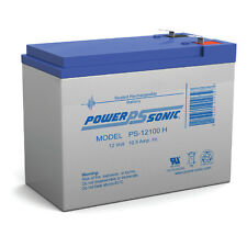 Power-Sonic 12V 10.5Ah Sealed Lead Acid Battery for Razor Bella Scooter