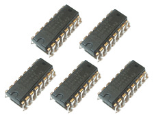 5 x 74HC595N 8-bit Schieberegister serial in und parallel out DIP-16
