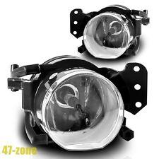 For 2004-2008 BMW 5 Series E60 OE Style Clear Lens Bumper Fog Light Lamp Kit