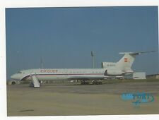 Rossija Tupolev TU-154M Aviation Postcard, B006