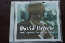 Rare David Bowie I Dig Everything PYE Singles on CD 6 Tracks MINT Inlay Case !!