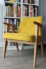 armchair vtg 60's CHIEROWSKI 366 made in Poland design RENOVATED danish sessel