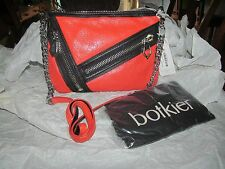 Botkier Cruz Orange and Black Crossbody Shoulder Handbag  MSRP  $230.00