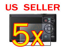 5x Canon ELPH 300/ IXUS 220 HS Digital Camera LCD Screen Protector Guard