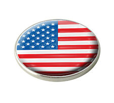 USA UNITED STATES OF AMERICA GOLF BALL MARKER. NATIONAL FLAG. BY ASBRI