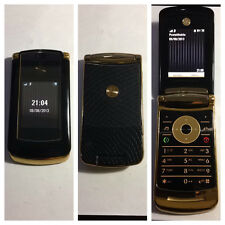 CELLULARE MOTOROLA V8 LUXURY GOLD UNLOCKED SIM FREE DEBLOQUE