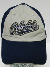 CABELA'S 61 SPORTING STORE OUTDOOR HUNTING FISHING Navy Grey ADVERTISING HAT CAP