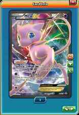 Fa Mew-ex Promo full art for Pokemon TCG Online (en Game ptcgo Card)