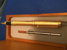 23KT GOLD p DIAMOND CUT GERMAN ENGINEERED CEO CFO COO ENGRAVABLE PEN TOURNEAU NY