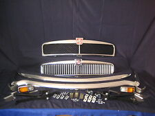 MGB RUBBER BUMPER to CHROME BUMPER CONVERSION KIT SLATTED  GRILL ***