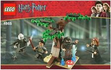 LEGO HARRY POTTER THE FORBIDDEN FOREST 4865 4 MINIFIGURES 100% COMPLETE GUARANTE