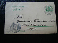 ALLEMAGNE - carte entier 1906 (cy66) germany (2eme choix)