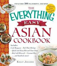 NEW! The Everything Easy Asian Cookbook by Kelly Jaggers [Paperback]