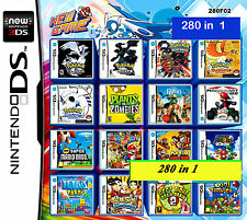 280 games in One cartridge Nintendo DS NDS DSLITE /DSi/3DS/3DS Xl Multigame card