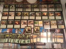 "MAGIC THE GATHERING: ""Lot of 60 CENTAURS Deck"" - Green-White Pro Deck, Centaurs!"
