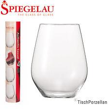 4x Spiegelau Authentis Casual Becher Glas Weißwein Weisswein 420ml NEU 1.Wahl
