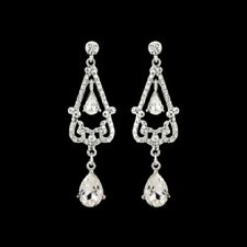 NEW! Extravagant Elegance Crystal Chandelier Earrings/Bridal Jewellery