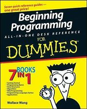 Beginning Programming All-in-One Desk Reference for Dummies® by Wallace Wang (2…