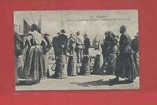 Carte postale (SEINE-MARITIME) DIEPPE  Rentrée pêche, débarquement poissons