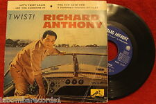"RICHARD ANTHONY-Twist.-1961-(SPAIN EDITION) 7""- EP (EX-/EX+) d"
