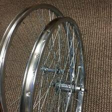 BICYCLE WHEELS SET 26 X 1.75 COASTER BRAKE VINTAGE BIKES NEW