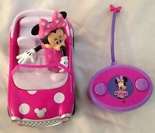 "Disney 4X5X7"" Minnie Mouse Figurine Remote Control Pink Car Toy - 2 Pieces"