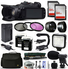 Canon XA20 HD Professional Camcorder Video Camera + 128GB Accessories Bundl